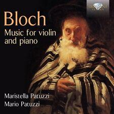 Maristella/Patuzzi, Mario Patuzzi-Music for Violin and Piano CD NUOVO