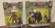 Chronicles Narnia: Werwolf vs. Prince Caspian & Tyrus Rare 3.75 Figure Lote NEW