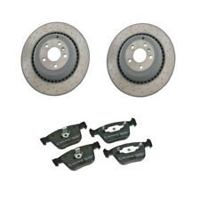 Rear Left & Right Brake Rotors & Pads Fits: Mercedes Benz W164 ML63 W251 R63 AMG