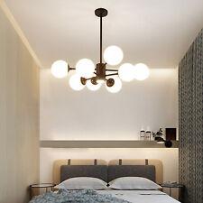 8 Lamps Modern Sputnik Chandelier Ceiling Pendant Light Glass Bubble Fixtures US