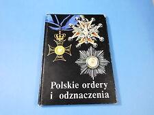 POLISH CATALOGUE of MEDALS 1705 - 1989 years BOOK Bigoszewska ORDER CROSS POLAND