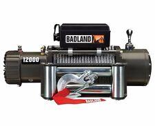 Badland Winch 12000lb OffRoad JEEP Winch Auto Load-Holding Brake 60 DAY WARRANTY