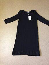 Señoras Vestido de punto Moonson Negro Bnwt Talla 8