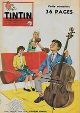 JOURNAL DE TINTIN N° 528 DEC. 1958 - COUVERTURE GHION - COUSINE EDWIGE