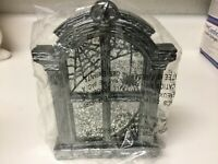 2019 BATH AND BODY WORKS HALLOWEEN Candle Holder  HAUNTED HOUSE WINDOW Sold Out