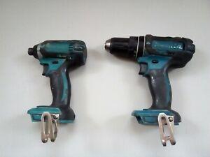 Makita 18v cordless drill set dhp482 dtd152