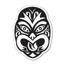 Maori Tiki Mask New Zealand Fuel Cap Sticker NZ Kiwi Car Fern Decal #6975EN