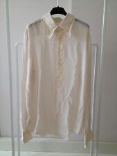Originale Dolce & Gabbana Camicia Uomo Seta Taglia Collo 44