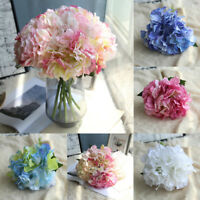 Artificial Silk Fake Flowers Peony Party Wedding Bouquet Bridal Hydrangea Decor