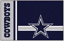 FANMATS Area Rug Floor Soft Cushion Indoor Outdoor NFL Dallas Cowboys Blue 2X3