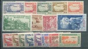 MAURITANIE 1940 PA 1-17 ** POSTFRISCH (F1006