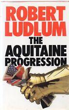 Aquitaine Progression by Robert Ludlum (BCA edition hardback, 1984)