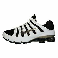 Nike Classic 2006 Shox Turbo OH Running Shoes White Brown 313827-221 Lace Up 12M
