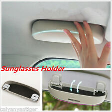 Hot Sale Car Sunglasses Holder Storage Box Clip Eyeglass Cases 1 Grey Universal
