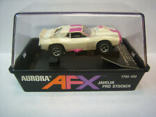 AURORA Rare AFX NOS New in Box Banded JAVELIN PRO STOCK Whi/Pur  Model Motoring