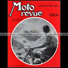 MOTO REVUE N°1271-c AJS 7R AMAL MOTOCONFORT MOTOBECANE 175 Z22 C VICTORIA 1956