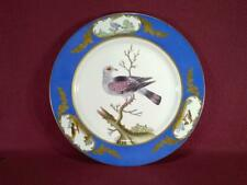 "#2 CHELSEA HOUSE H271 BIRD DECORATIVE PLATE - 10.75"" - BLUE/GOLD BORDER"