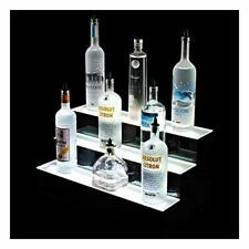 Three Tier LED RGB Bottle Display Stand for Spirits,Liquor, Beer with Remote