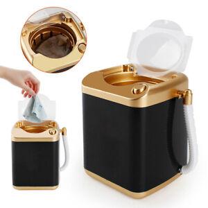 Mini Makeup Brush Cleaner Electric Washing Machine For Eyelash Sponge Pad Black