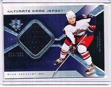 2004/05 UPPER DECK ULTIMATE COLLECTION GAME JERSEY NIKOLAI ZHERDEV  226/250