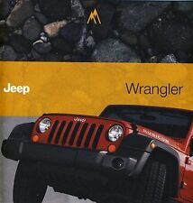 Jeep Wrangler 01 / 2011 catalogue brochure English Int'l