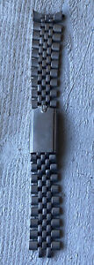 Authentic Vintage Mens Rolex Stainless Steel Jubilee Band Missing End Piece 19mm