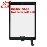 Black Touch Screen Digitizer Replacement For iPad Air 2 A1566 A1567 Home Button