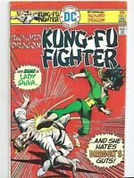 Kung Fu Fighter #5 first printing original Comic Book 1st Lady Shiva 1976