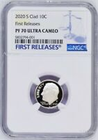 PF 69 Ultra Cameo! 2018 S Proof Clad Roosevelt Dime NGC Early Releases