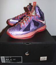 Nike Air Lebron X 10 Elite Allstar Area 72 Sneakers Mens Size 9.5 Brand New