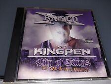 CD: X-RAIDED & KINGPEN - City of Kings (2002 Gang Way Records) OOP