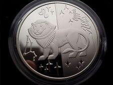 """Ukraine 5 Hryven """"Lion (Zodiac sign)"""" Silver Coin ,2008 year"""