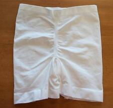 HANES HER WAY THIGH SHAPER GIRDLE WHITE MED 0393 NEW