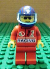 LEGO MINI-CLASS TOWN–OCTAN RAC, RED TEAM 1, BLUE HELM STARS & STRIPES, VIS-USED