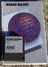 BASIC CARTRIDGE Atari Rev C NEW w/Manual 400/800/XL/XE