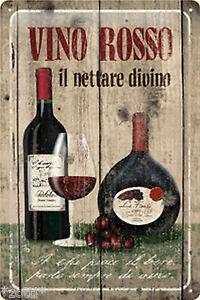 Nostalgic Art Vino Rosso Le Nettare Divino Pentolino Chianti La Fiorita