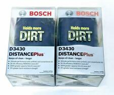 Bosch D3430 DistancePlus Lot of 2 Engine Oil Filters For Chevrolet Blazer S10 GM