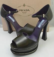 Prada MIU MIU Green Women's RUNWAY  Platform Heels  (size UK7, EU 40 US 10)