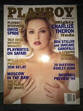 Playboy May 1999  Charlize Theron Issue