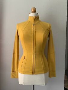 Lululemon Define Jacket Yellow Size 2