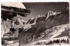 France - Un Beau Jour d'Hiver au Pays de Mont-Blanc - RP Postcard Franked 1955