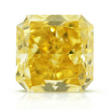 0.50 Carat Fancy Intense Orangy Yellow GIA Diamond Loose Natural Color Certified