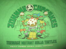 JOHNNY - CUPCAKES Brand BAKED Teenage Mutant Ninja Turtles (LG) T-Shirt UNITY