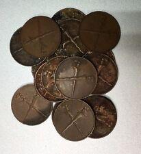 1962  Keris 1 sen coin   High Grade