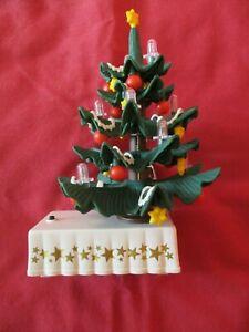 PLAYMOBIL 2001 CHRISTMAS TREE LIGHTS UP WORKING