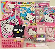New Hello Kitty Easter Toy Gift Basket Birthday Plush Doll Toys Play Set Book