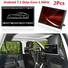 "2PC 11.6"" HD 8-Core Android 7.1 Car Headrest Monitor WiFi 3G/4G HDMI Mirror Link"