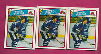 3 X 1988-89 OPC # 22 NORDIQUES PETER STASTNY    CARD