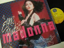 """Madonna-Express Yourself-W2948T-Vinyl-12""""-Single-Record-1980s"""