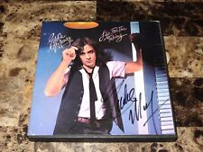 Eddie Money Rare Hand Signed Reel To Reel Tape Life For The Taking Photo + COA